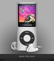Apple iPod nano by AlexanderLoginov