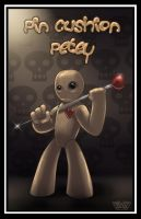 Pin Cushion Petey by thedarkgecko