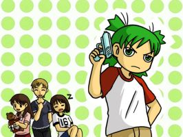 Yotsuba and Caipirinha by superdonut