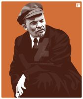 Lenin by monsteroftheid