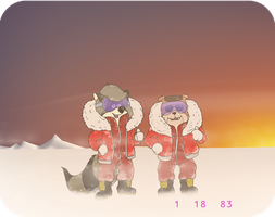 Troy Malone Antarctic Rescue Mission by KrDoz