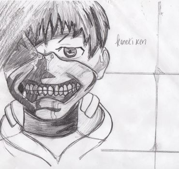 Kaneki Ken going out for breakast by kingdomofideas