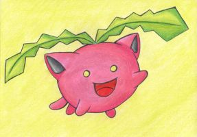 PAA 005 - Free Drawing: Hoppip by Elythe