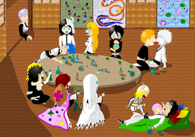 Bleach Party by 6cartercharlie6