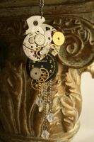 Reconstructed Watch Pendant by GomoDucky