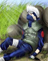 Hatake Kakashi - colored by EarthToMe001