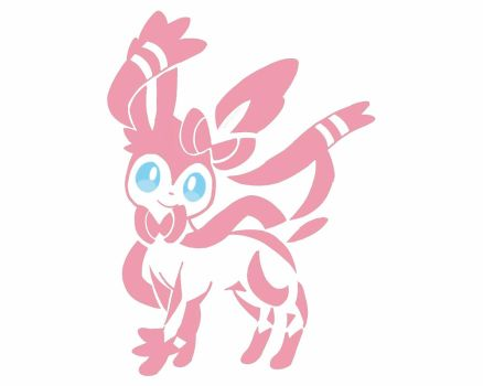 Sylveon Tattoo Colour by Sparky-2000