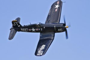 Chance Vought F4U-4 Corsair by OpticaLLightspeed