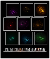MrRobin bubble c4d package by MrRoBiN