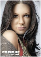Evangeline Lilly by Kinght200