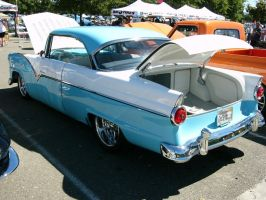 1955 Ford Victoria customized 2 door hardtop by RoadTripDog