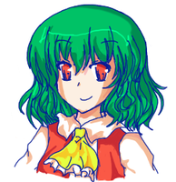 Yuuka Kazami in SWR -alphes- by LuckyHaruAnimu-Squig