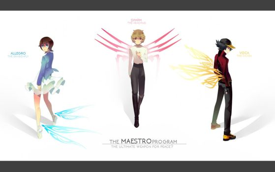 ORIGINAL: The Maestros by macciii