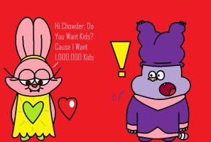 Panini Wants Chowder's Kids by ChowderXPanini1337
