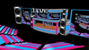 MMD Concert Stage DOWNLOAD by SachiShirakawa