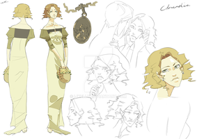 Claudia Character Sheet by WhiteFoxCub