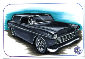 1955 chevy nomad by chrisfurguson