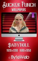 Babydoll Wallpaper by ValantisDigitalArt