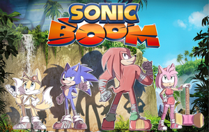 Sonic Boom by Blue-Chica