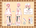 Pinku - Chara Sheet by rosuuri