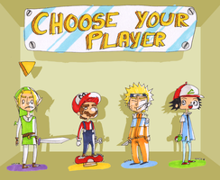 Choose your playerrrrrrr by Katta93