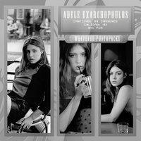 +Photopack: Adele Exarchopoulos by Whatever-Photopacks