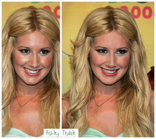 Retouch Ashley Tisdale by theskyinside