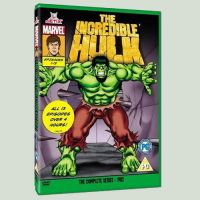 Hulk DVD 1982 series by Simon-Williams-Art