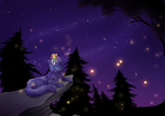 fireflies by chocobeery