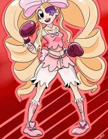 Nui Harime goes boxing (request) by BadassRaichu