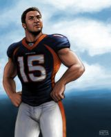 Tebow the Great by MikeMeth