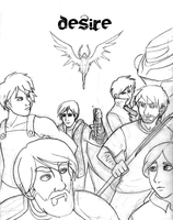 Desire Group Shot +Rough by Kitty-Quixotic