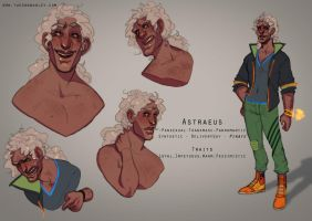Character Sheet - Astraeus by BagelHero-Works