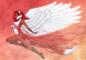 Fly on the wings of love by Vani-Fox