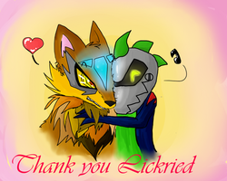 Ein Dankeschoen an Lickried by ChibiKitty14
