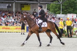 3DE Show Jumping Phase Stock 25 by LuDa-Stock