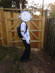 Greg Heffley Cosplay [WIP] by Pizzaface4372
