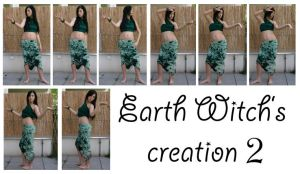 Earth Witch's creation 2 by syccas-stock