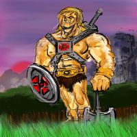 He-Man: the Most Powerful Man in the Universe by Bat-Dan