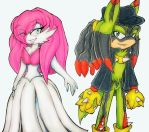 Mega Evolutions TodStar And Sky by Sky-The-Echidna
