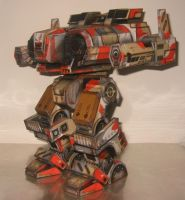MechWarrior 4 Fafnir by BLaaR75