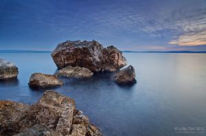 Rocks in blue by Lidija-Lolic