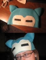 Snorlax Hat by Moosader