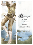 Peter Pan Bookmark by Achen089
