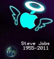 Steve Jobs 1955-2011 by MarekDolata