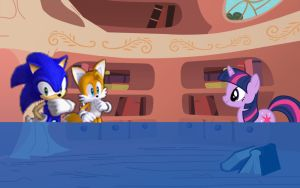 Sonic Equestria: Cutscene Sample by cooleevee759