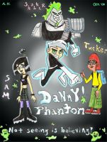 Danny Phantom Mini Poster by Agent-Di