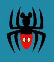 spider mouse logo by Anxelique
