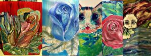 all paintings by BrittanyHeart