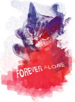 Forever Alone Kitty by 7daysleft